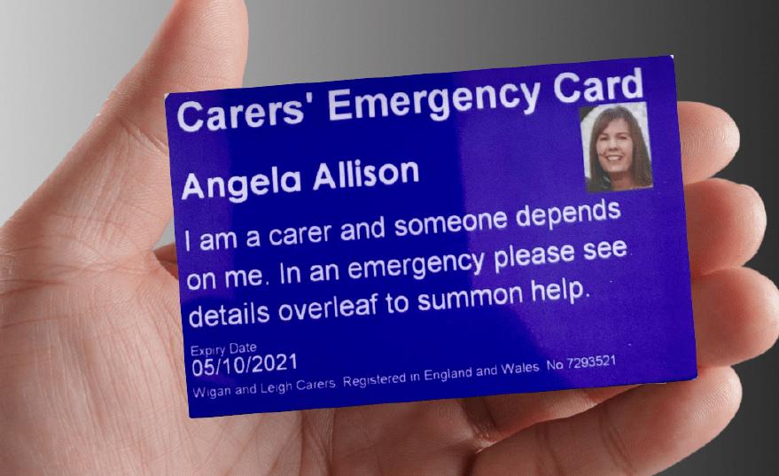 Carers' Emergency Card